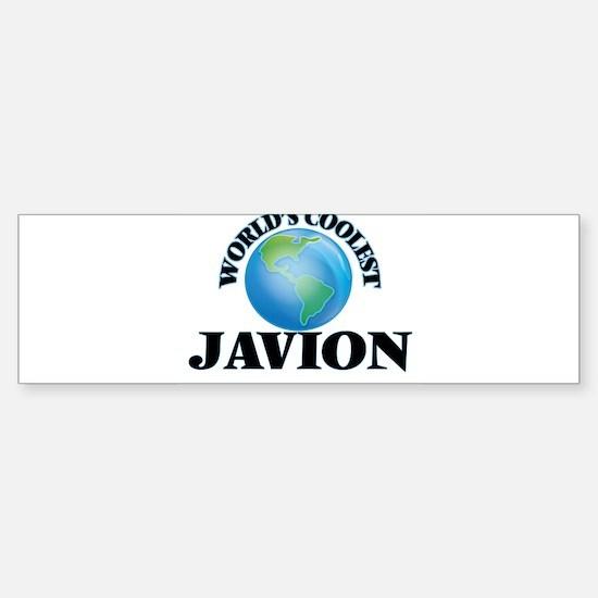 World's Coolest Javion Bumper Bumper Bumper Sticker