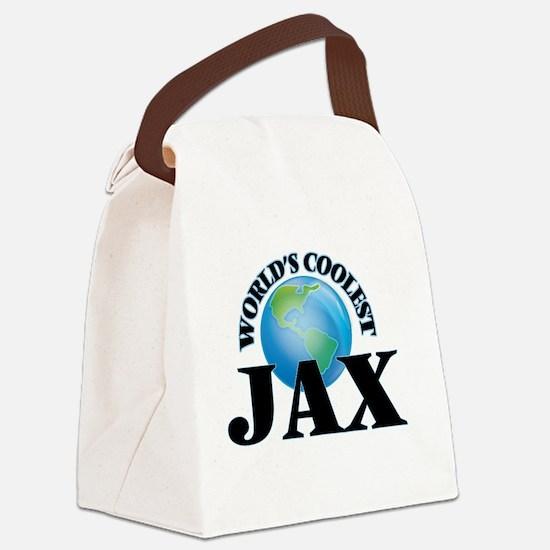 World's Coolest Jax Canvas Lunch Bag