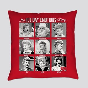 Lucy Holiday Emotions Everyday Pillow