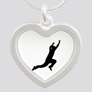 Parcouring Silver Heart Necklace