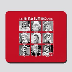 Lucy Holiday Emotions Mousepad