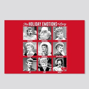 Lucy Holiday Emotions Postcards (Package of 8)