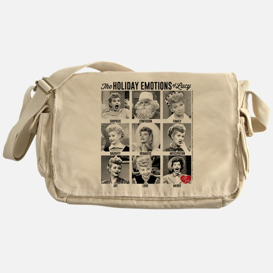 Lucy Holiday Emotions Messenger Bag