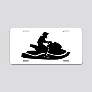 Jetski racing Aluminum License Plate