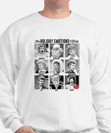 Lucy Holiday Emotions Sweatshirt