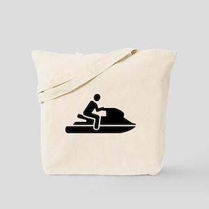 Jetski racing Tote Bag