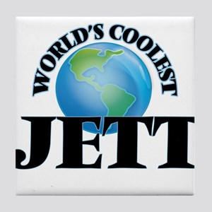 World's Coolest Jett Tile Coaster