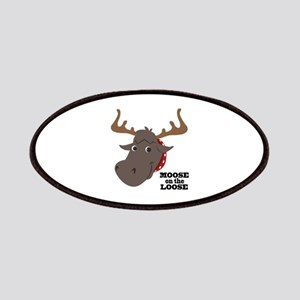 Moose On Loose Patches