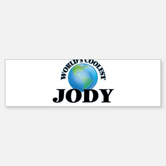 World's Coolest Jody Bumper Bumper Bumper Sticker
