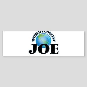 World's Coolest Joe Bumper Sticker