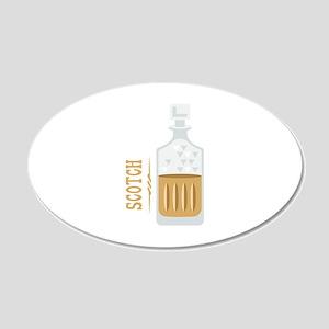Bourbon Bottle Wall Decal
