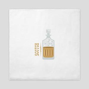 Bourbon Bottle Queen Duvet