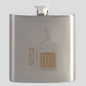 Bourbon Bottle Flask