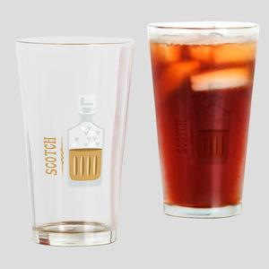 Bourbon Bottle Drinking Glass