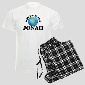World's Coolest Jonah Men's Light Pajamas