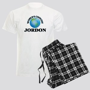 World's Coolest Jordon Men's Light Pajamas