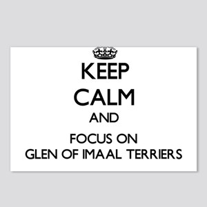 Keep calm and focus on Gl Postcards (Package of 8)