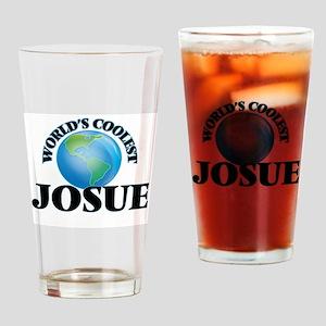 World's Coolest Josue Drinking Glass
