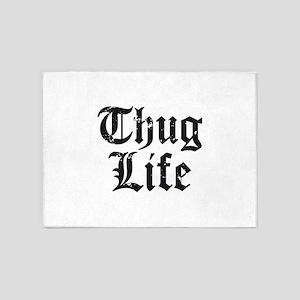 Thug Life 5'x7'Area Rug