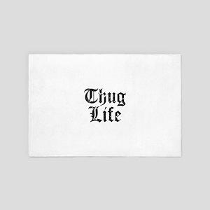 Thug Life 4' x 6' Rug