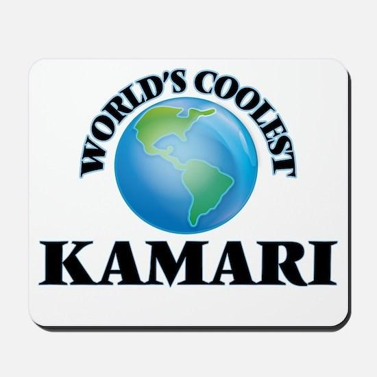 World's Coolest Kamari Mousepad