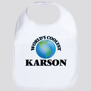 World's Coolest Karson Bib