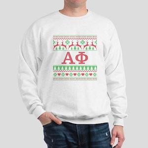 Alpha Phi Ugly Christmas Sweatshirt
