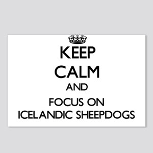 Keep calm and focus on Ic Postcards (Package of 8)
