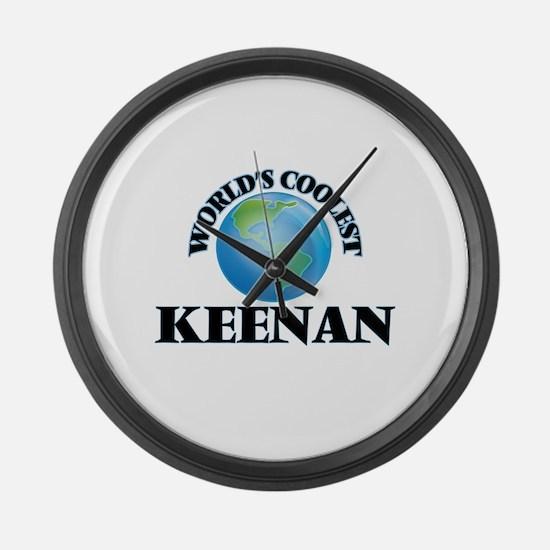 World's Coolest Keenan Large Wall Clock