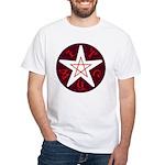 Penta-Witch White T-Shirt