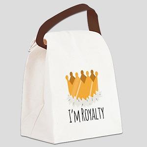 Im Royalty Canvas Lunch Bag
