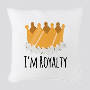 Im Royalty Woven Throw Pillow