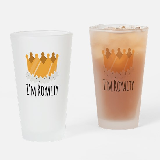 Im Royalty Drinking Glass