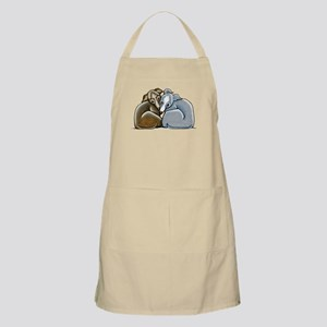 Italian Greyhound Huddle Apron