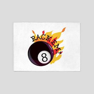 Rack Em 5'x7'Area Rug