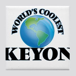 World's Coolest Keyon Tile Coaster