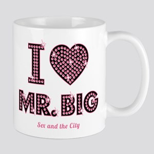 I Love Mr. Big Sex And The City Mugs