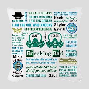 Breaking Bad Woven Throw Pillow
