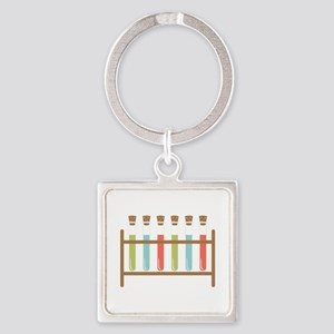 Test Tubes Keychains