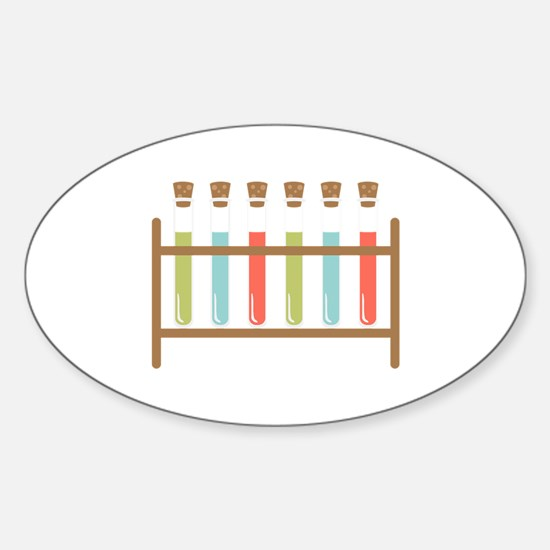 Test Tubes Decal