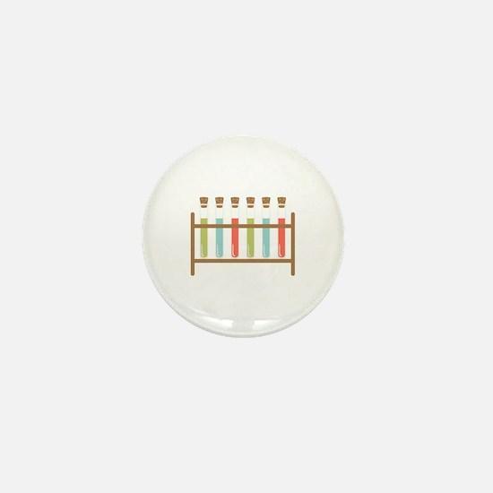 Test Tubes Mini Button