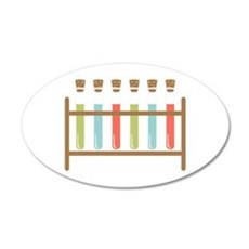 Test Tubes Wall Decal