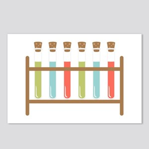 Test Tubes Postcards (Package of 8)