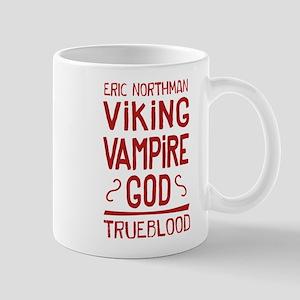 Eric Viking Vampire god True Blood Mugs
