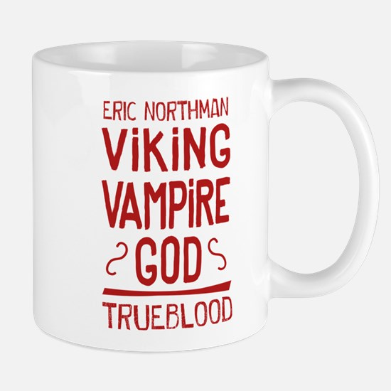Eric Viking Vampire god True Blood Mugs