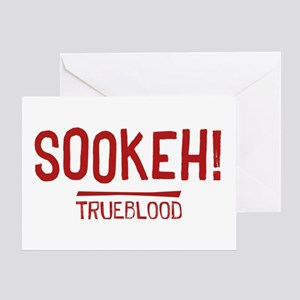 Sookeh True Blood Greeting Cards