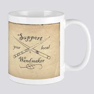 Support your local Wandmaker w bkg Mugs