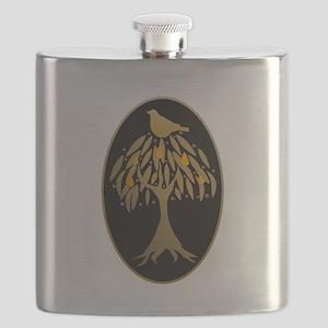 Partridge in a Pear Tree Flask