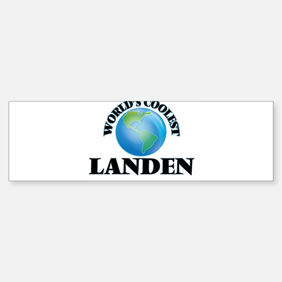 World's Coolest Landen Bumper Bumper Bumper Sticker
