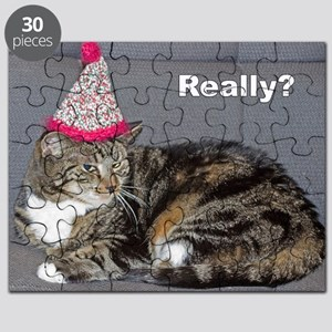 Really? tabby cat scoffs Puzzle